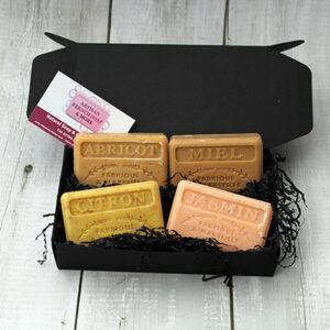 Golden Soap Gift Box - Great Small Gift Ideas