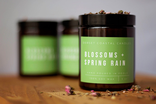 Blossoms & Spring Rain Soy Wax Candle